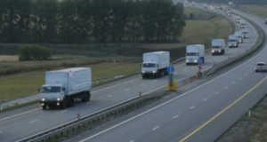 orosz konvoj