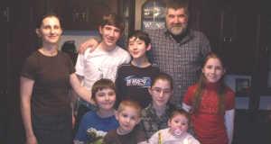 Taracközi Gerzson és Mónika családja