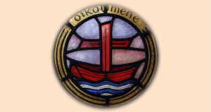 Az ökumené jelképe a hajó. Noé bárkája és Pál apostol hajója után a menekülés bárkáját, a különbözőek összetartozását, az Istenre szorultságban való egységünket fejezi ki. Forrás: egyhaziprotokoll.hu
