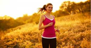 Illusztráció – futás, egészséges életmód