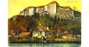 Az ungvári vár, melynek templomában egykor aláírták az uniót. A templomnak ma már csak az alapjai láthatóak.