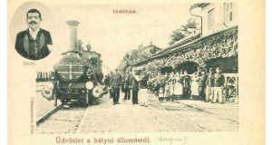 Bátyú, 1903 (Fotó: www.facebook.com/BorzhavaRailway/photos)