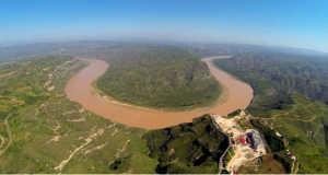 Sárga folyó (Fotó: AFP)
