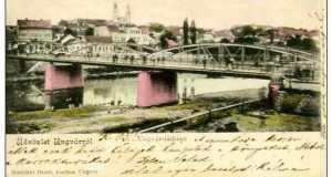 Ungvár, 1906 (Fotó: www.delcampe.net)