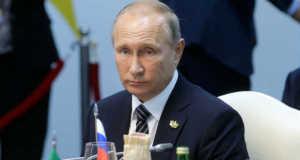 Vlagyimir Putyin orosz elnök (MTI/EPA/Szputnyik/Mihail Metzel)
