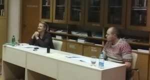Rácz Krisztina és dr. Andrew Hodges