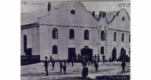 Huszt zsinagógája (Fotó: www.synagogues.hu)