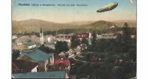 Munkács 1916-ban (Fotó: www.ebay.de)