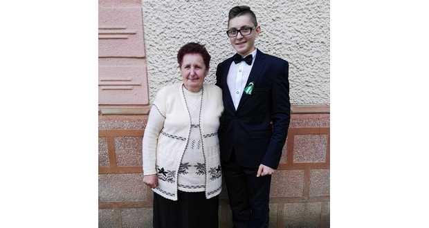 Ilonka néni Andris unokájával