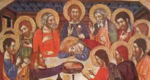Jaume Serra: Az utolsó vacsora (1370 körül)