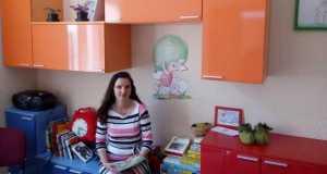 Lívia, a nyelviskola megálmodója és vezetője
