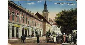 Beregszász, Kálvin tér (Fotó: www.pinterest.com)