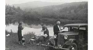 Szinevéri-tó, 1938 (Fotó: www.zakarpati.cz/tag/uzhorod/)